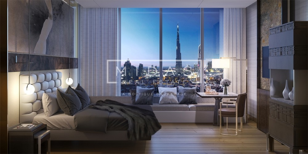 Studio | Burj Khalifa View | 5* Serviced Apartment
