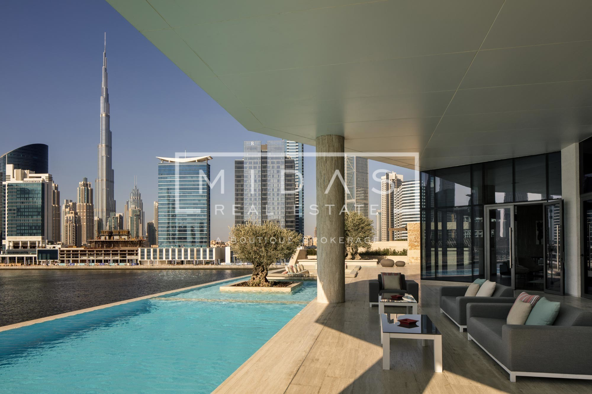 Exceptional Apartments overlooking Burj and Canal