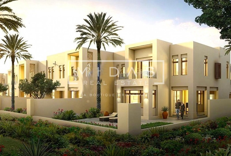 Easy Payment Plan | 3 BR+Maids Villa in Mira Oasis 2