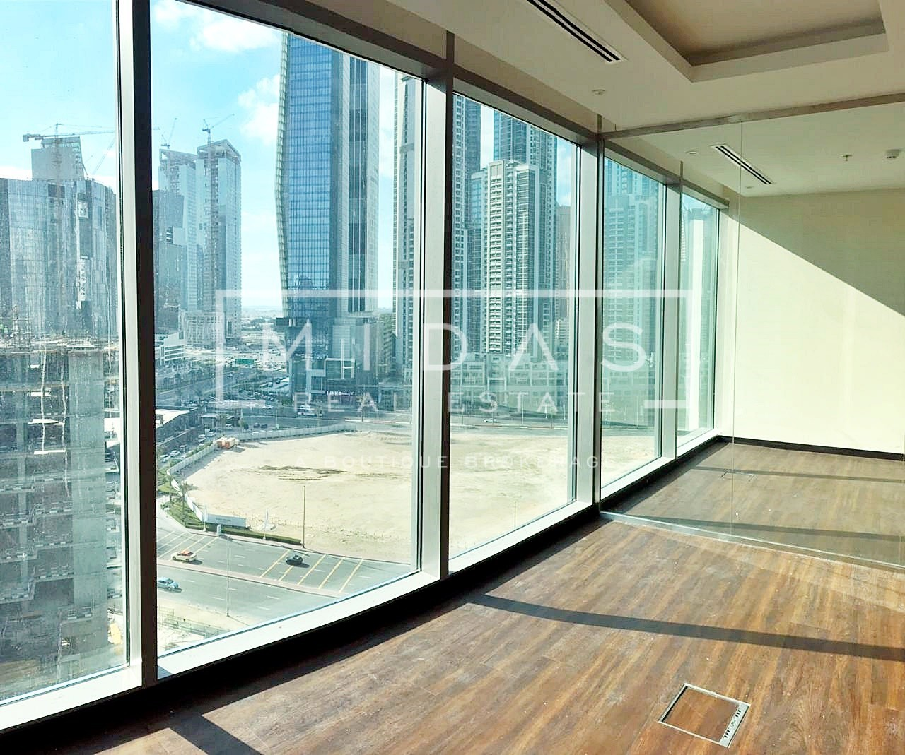 Fully Fitted Office | Closed Partition |Canal View