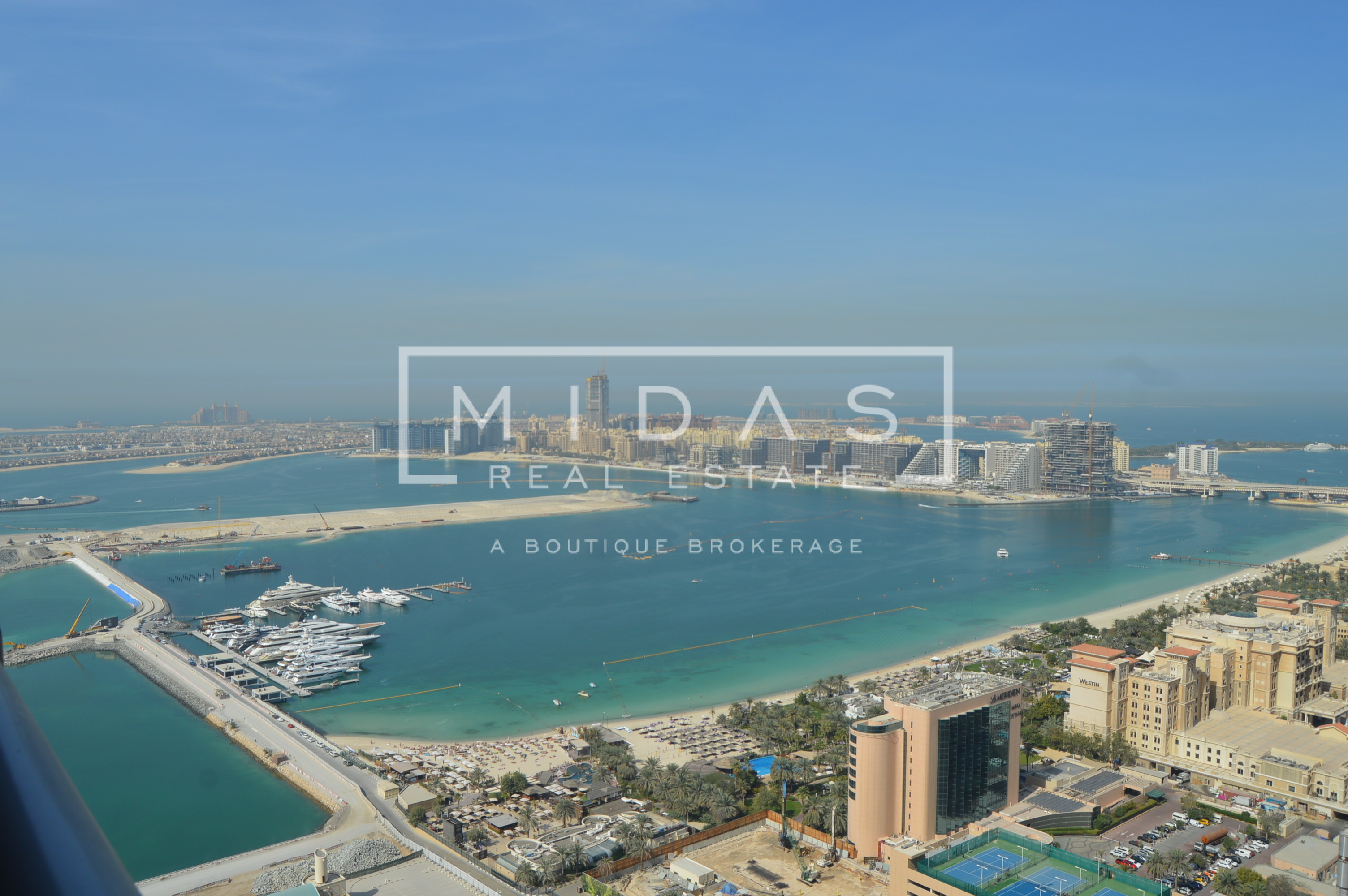 Fully Furnished with Full Sea View 3 Bedrooms