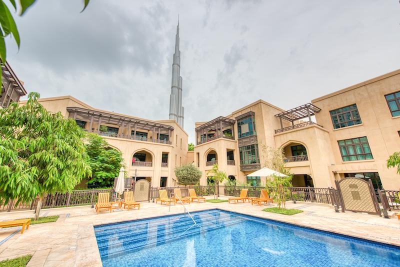 1BR, Old Town Island with Burj Khalifa Views