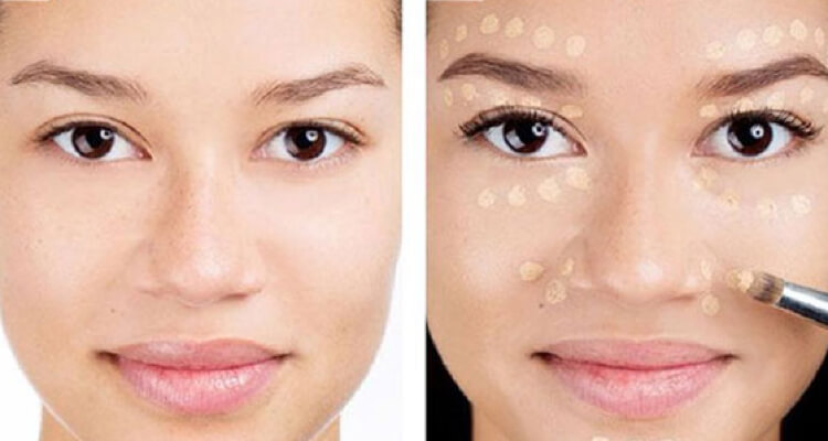 a little concealer can go a long way