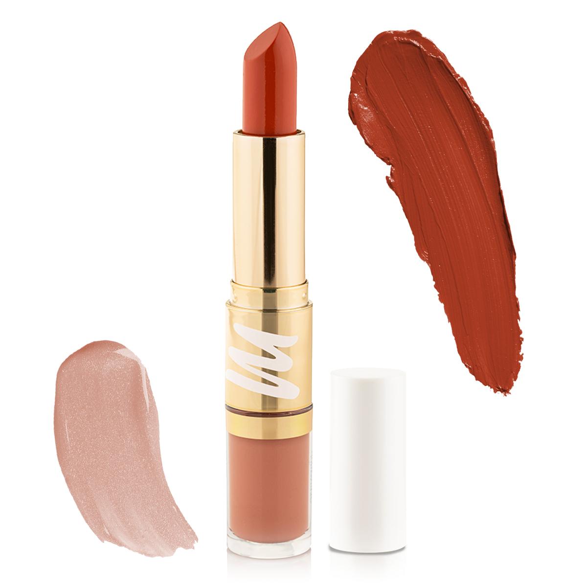 2 in 1 Plumping Lipstick + Plumping Lip gloss - Mystique