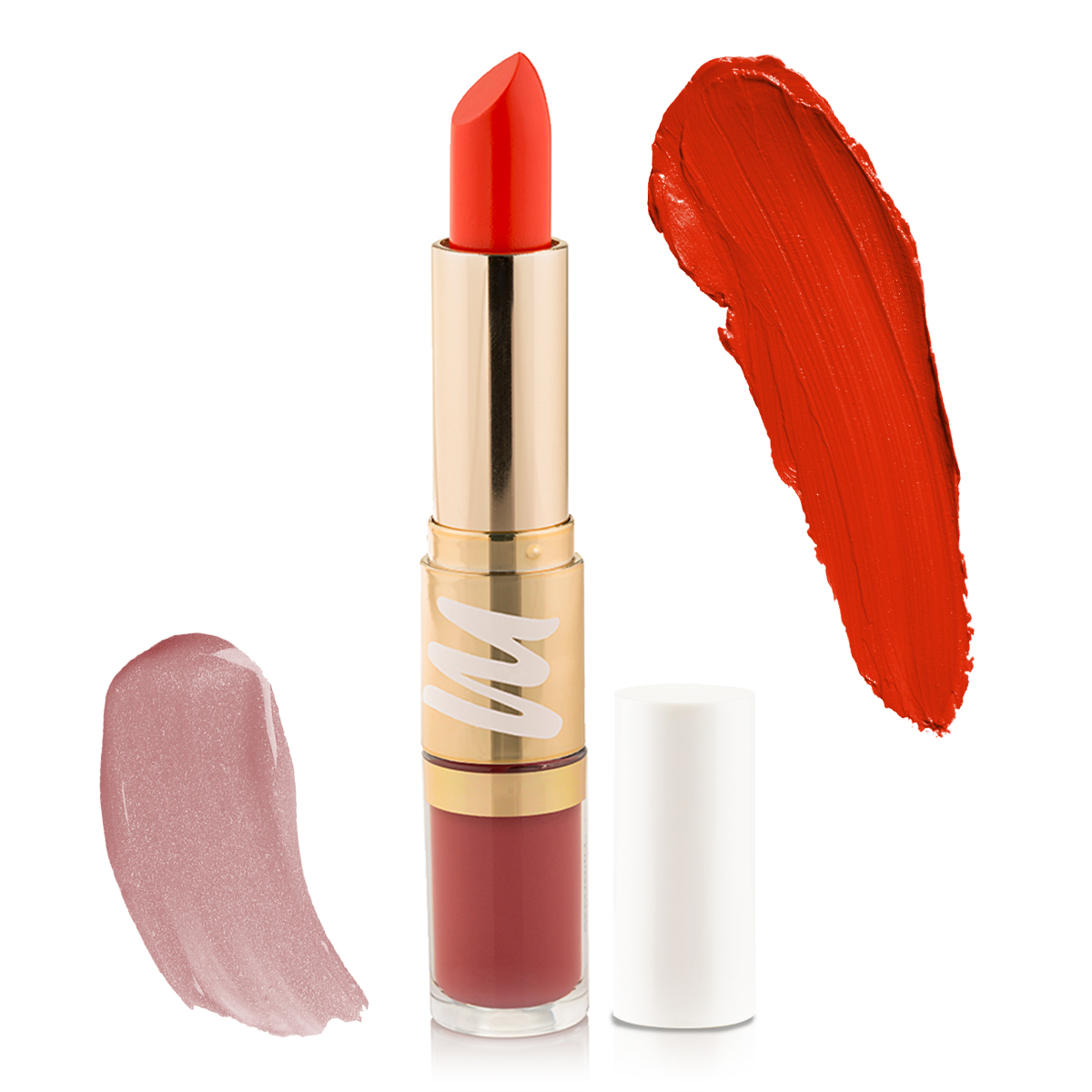2 in 1 Plumping Lipstick + Plumping Lip gloss - Sultry Diva