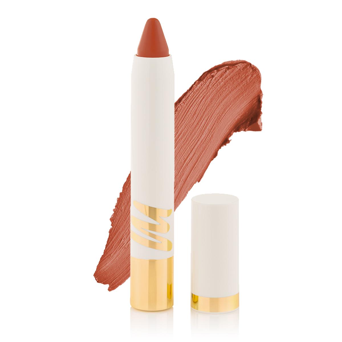 2 in 1 Matte Lipstick + Lip Liner - Biscotti