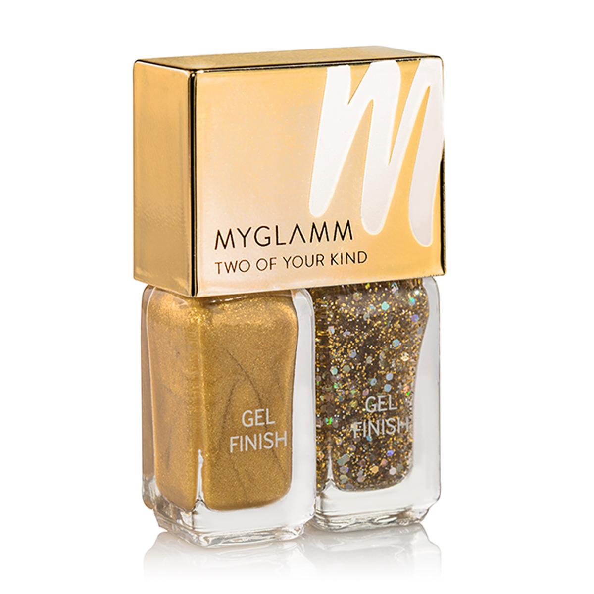 Gel Finish Nail Enamel - Liquid Gold