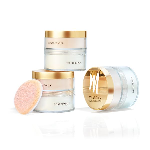 Glow to Glamour  Makeup Highlighter and fixing powder for Face