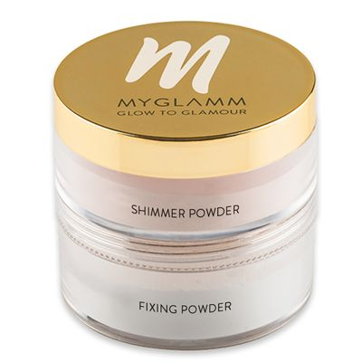 Glow to Glamour  Shimmer Powder and fixing powder for Face
