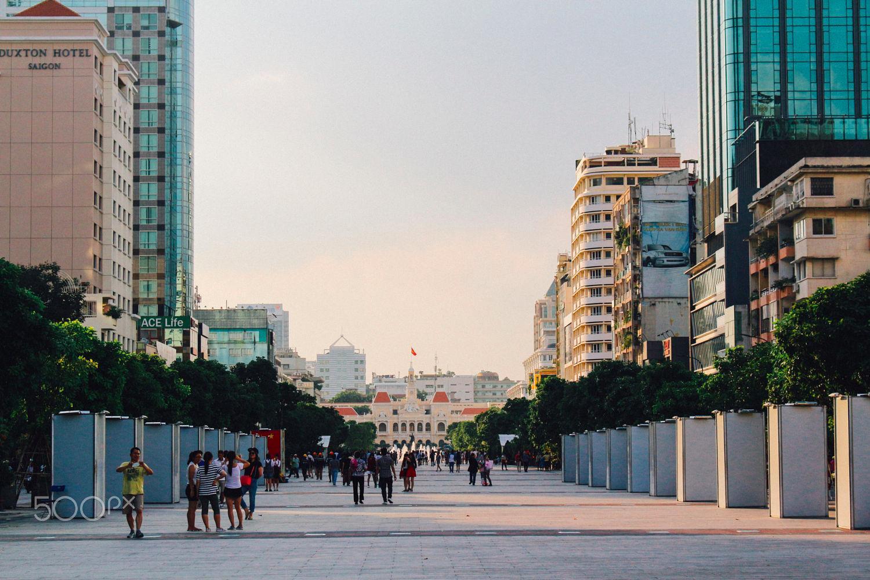 Con phố đi bộ Nguyễn Huệ nổi tiếng - Ảnh: Hoang Hai