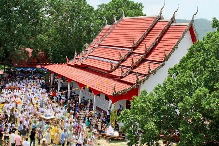Lễ hội được tổ chức Loei ở xứ chùa Vàng