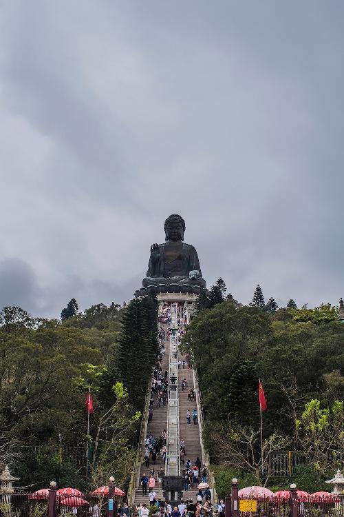 Lantau và bức tượng Phật khổng lồ