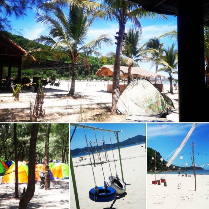 Dạo chơi và cắm trại ở các bãi biển xinh đẹp tại Huế là một trải nghiệm thú vị