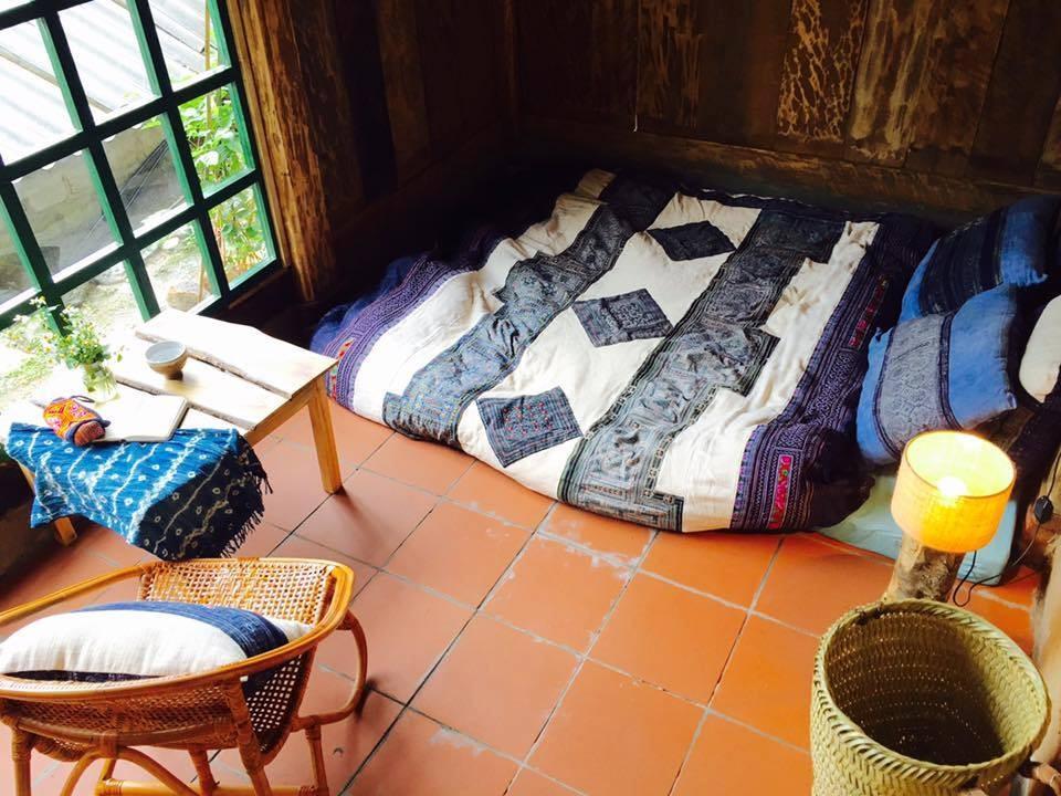 Thiết kế các phòng cũng ấm áp và độc đáo vô cùng
