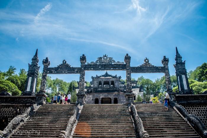 Chiêm ngưỡng kiệt tác kiến trúc cha ông ở lăng Khải Định