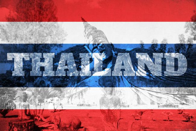 Không đùa cợt với quốc kỳ Thái Lan