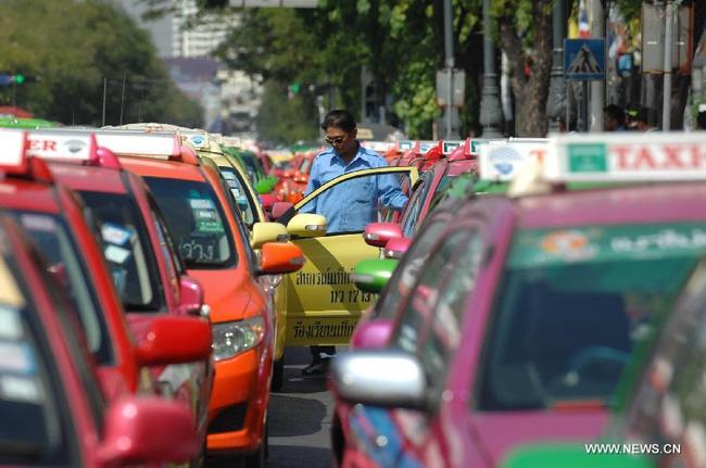 Cẩn thận với taxi Thái Lan