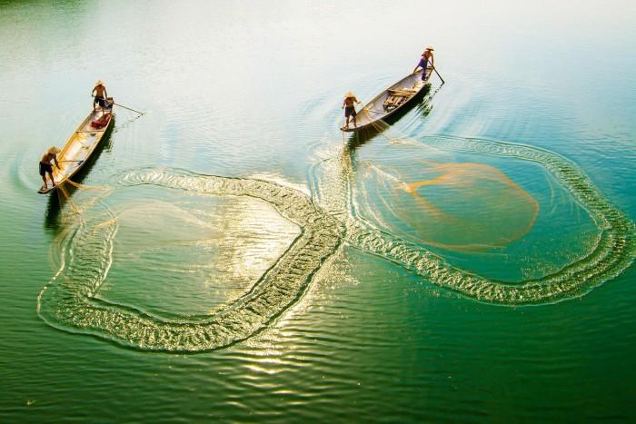 Văn hóa làng chài ở Huế cũng được giữ gìn