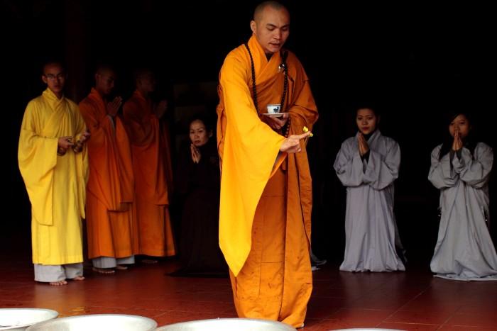 Gắn liền với đời sống tâm linh Phật giáo