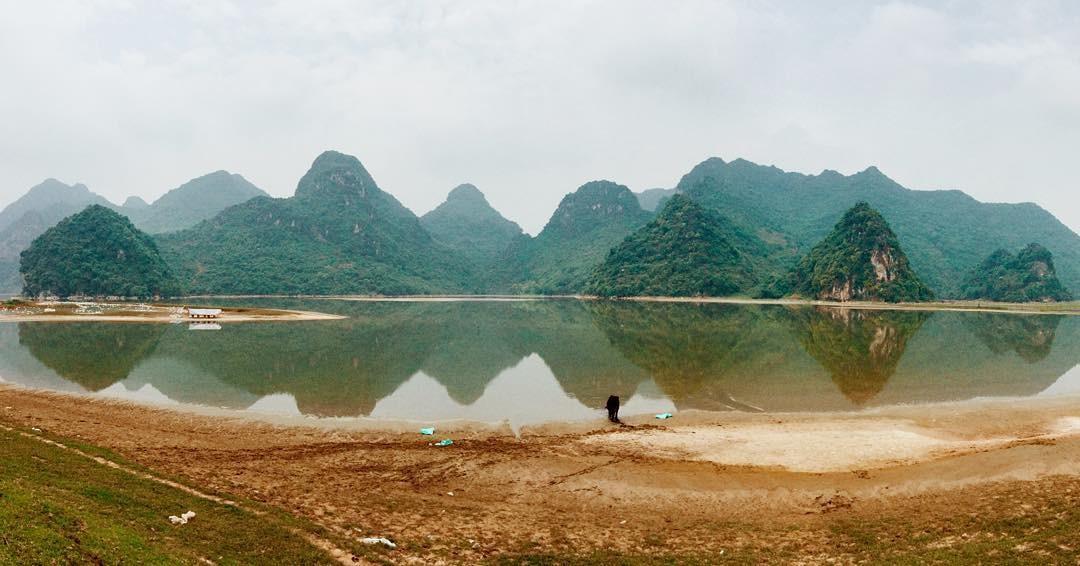 Hồ Tuy Lai trông như bản sao thu nhỏ của vịnh Hạ Long