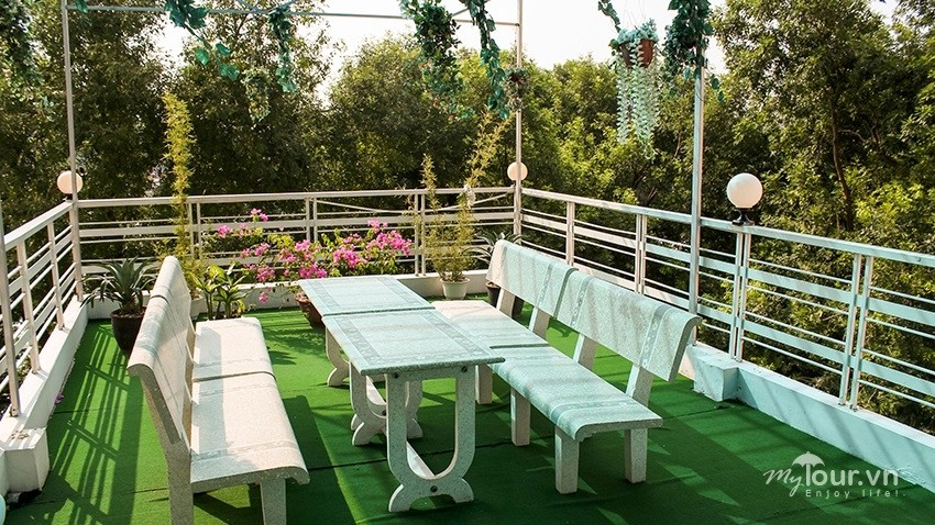 Khu vườn nhỏ nên thơ ở A25 Quang Trung