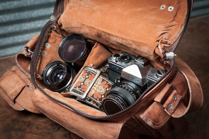 Máy ảnh cũng cần chiếc túi riêng để và phải có chức năng chống sốc