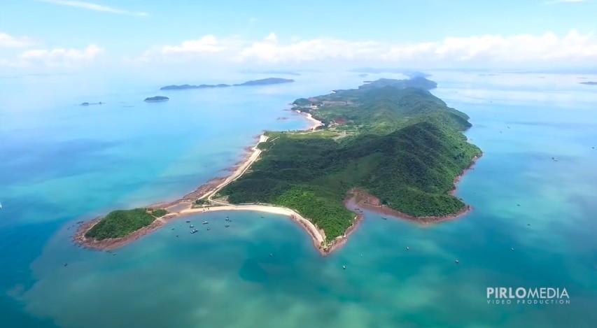 Cái Chiên - hòn đảo xinh đẹp giữa biển trời bao la