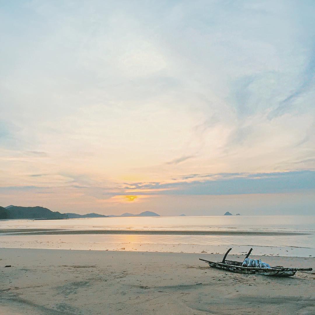 Một góc biển hoang sơ và yên bình