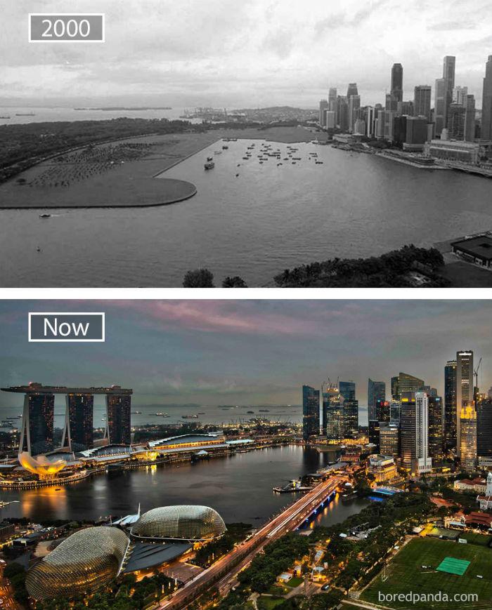 Là một trong những quốc gia năng động, sự đổi thay ở Singapore diễn ra với tốc độ nhanh chóng.
