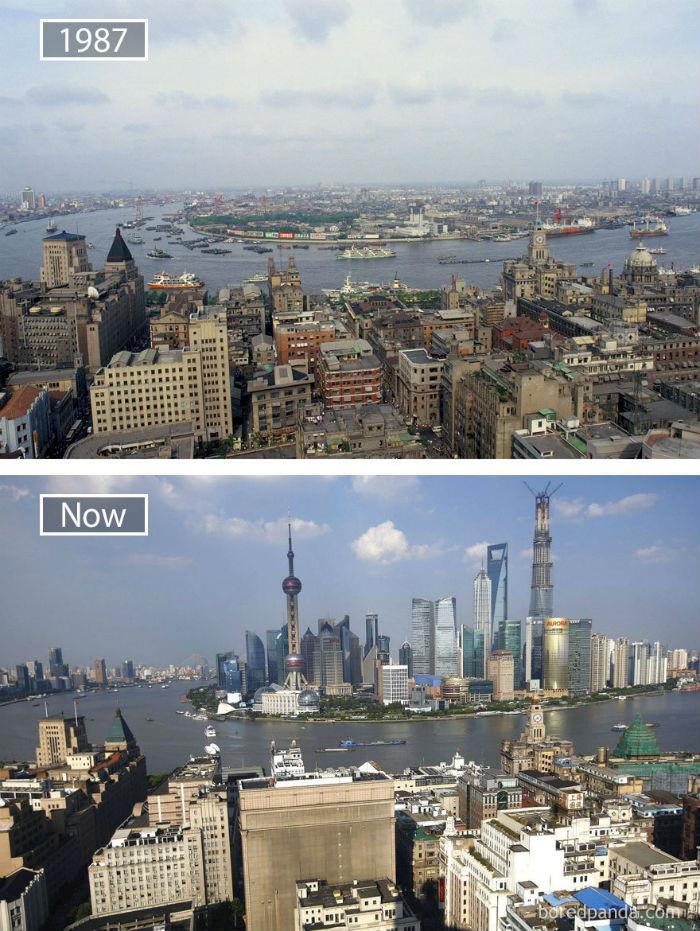 Khởi đầu là một làng chài hẻo lánh, Thượng Hải trở thành thành phố quan trọng bậc nhất ở Trung Quốc và một thời từng là trung tâm tài chính lớn thứ 3 thế giới (sau New York và London)