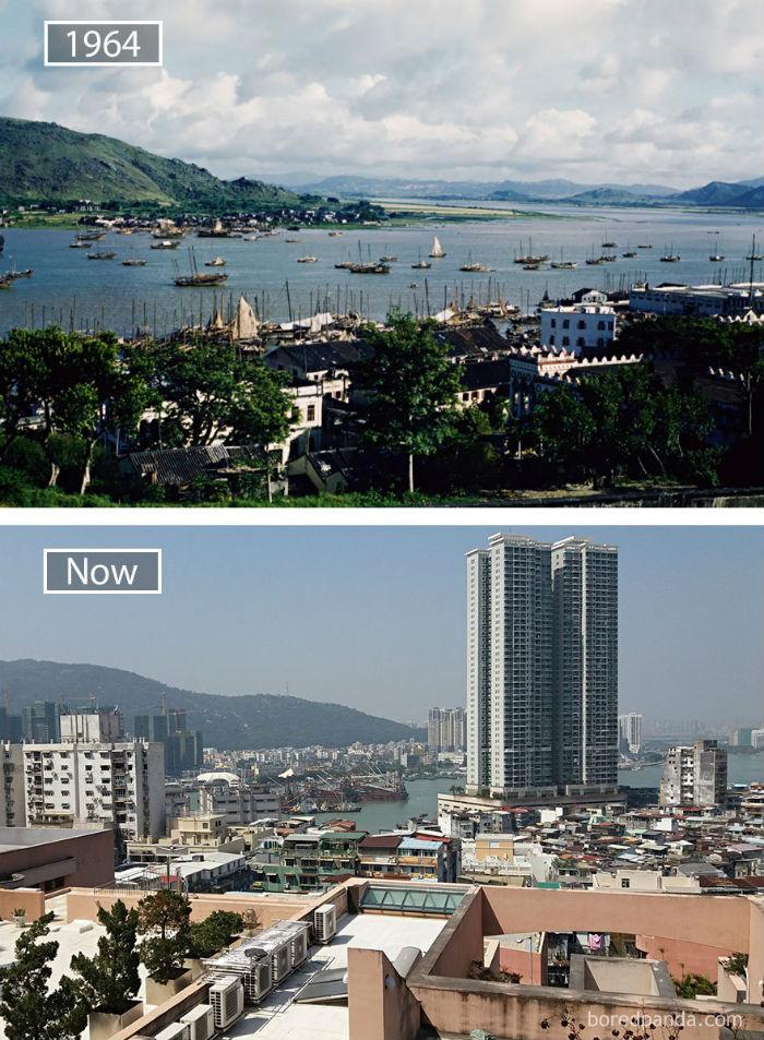 Nằm trên một bán đảo nhỏ, Macau mang vẻ khác biệt khi ảnh hưởng sự pha trộn văn hóa giữa Bồ Đào Nha và Trung Quốc.