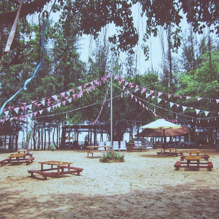 Zenna Pool Camp- điểm cắm trại gần Sài Gòn