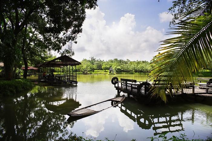 Vẻ nên thơ hoang dã của khu du lịch Cao Minh