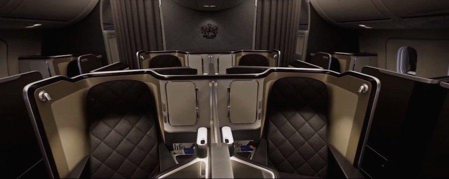 Xếp thứ 10 là khoang nhất của British Airways với tivi 23 inch và màn hình cảm ứng điều khiển từ xa đặt bên thành ghế.
