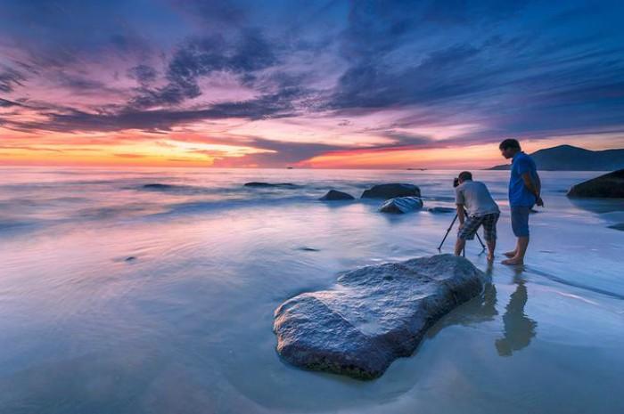 Về Hà Tĩnh, ghé biển Thiên Cầm đầy mê hoặc - Ảnh: Sưu tầm