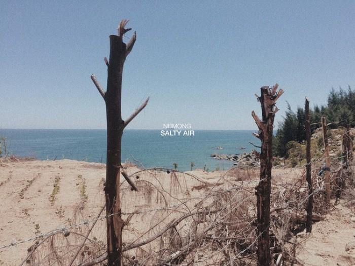 Biển Thiên Cầm còn hoang sơ lắm - Ảnh: Sưu tầm