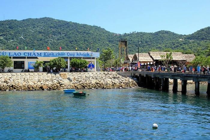 Bến cảng ở Bãi Làng