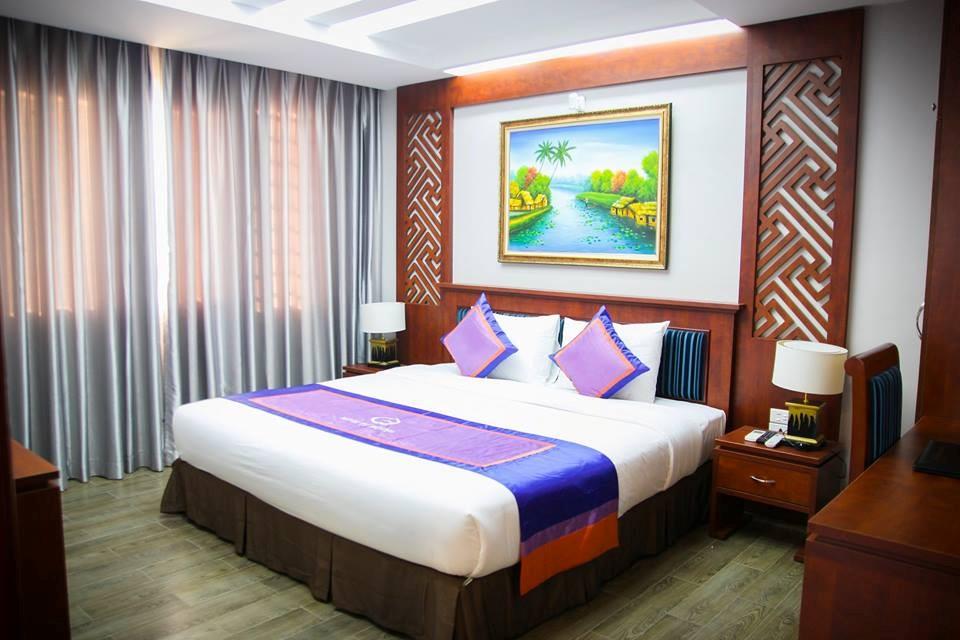 Phòng nghỉ tiện nghi, cao cấp trong khu du lịch