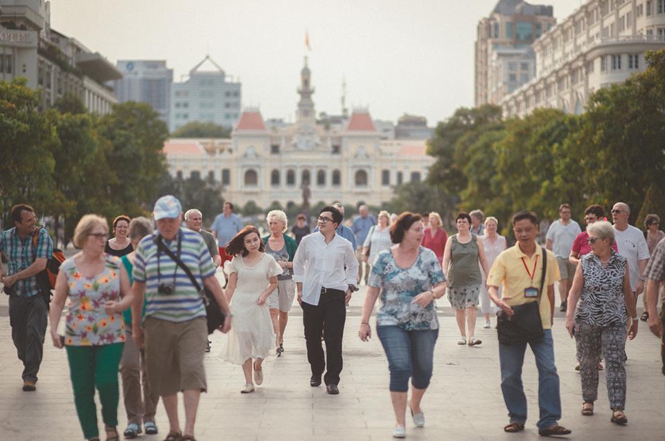 Ngỡ ngàng trước vẻ đẹp Việt Nam qua bộ ảnh cưới của couple Thái 2
