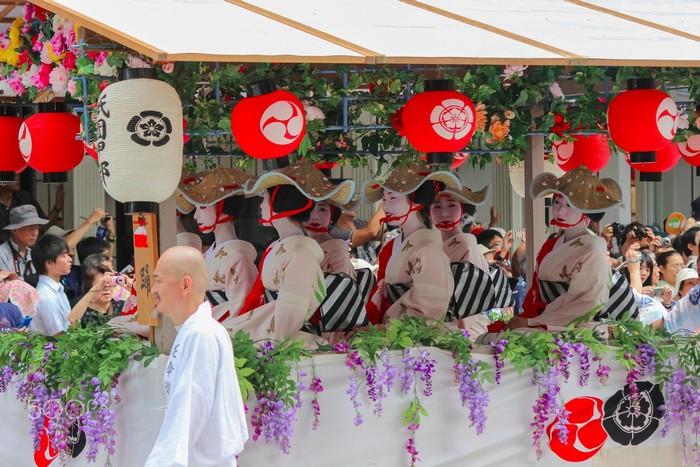 Màn trình diễn sặc sỡ của Gion Matsuri
