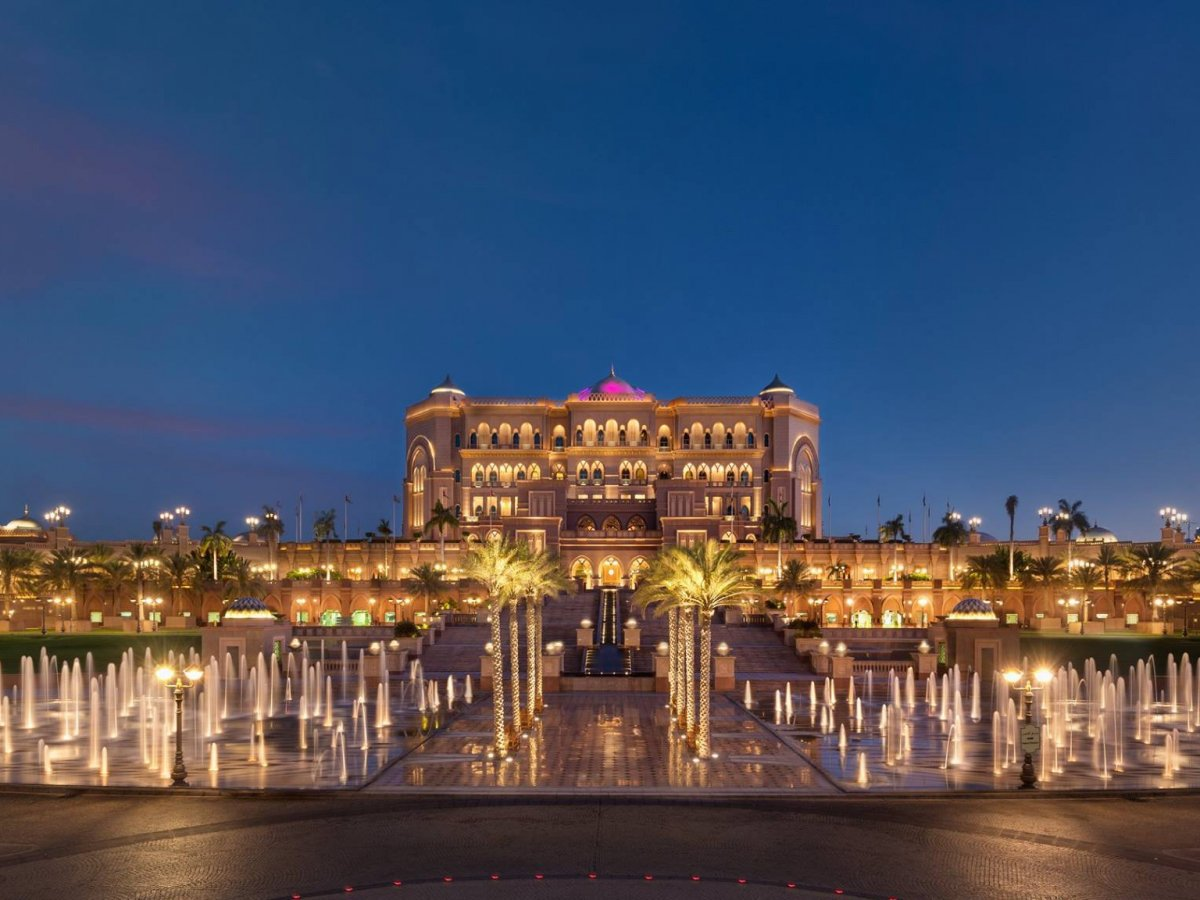 Emirates Palace Spa ở Abu Dhabi (UAE)