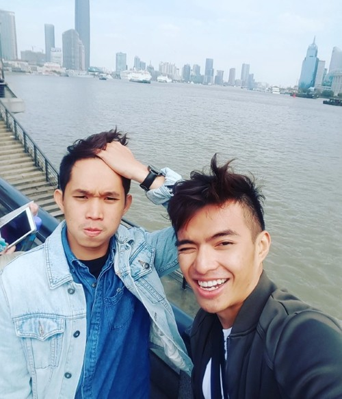 Lý Thành Cơ (phải) và Hào Nguyễn (trái)