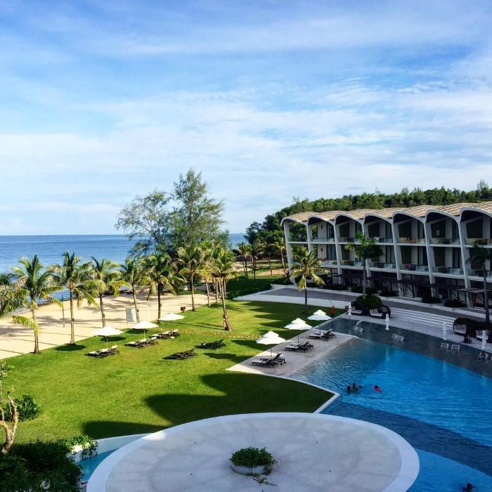 Resort có view hướng ra biển- Ảnh: lamgiang_