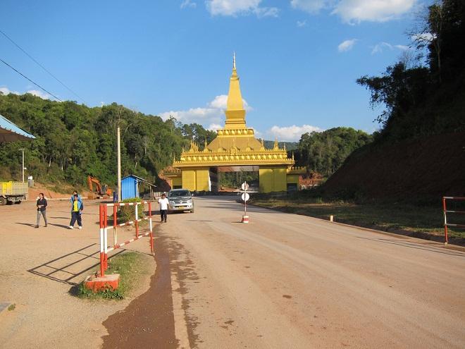 Biên giới Lào - Trung Quốc
