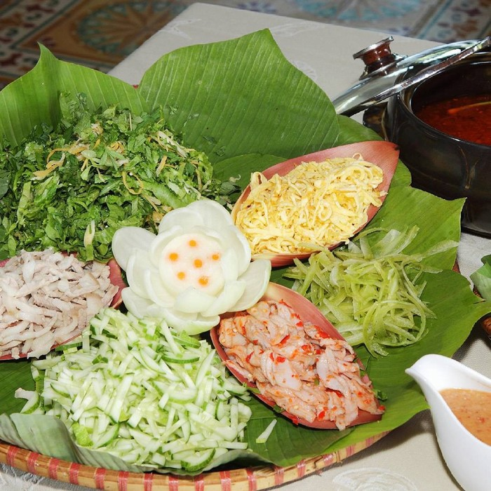 Hương vị ẩm thực phong phú