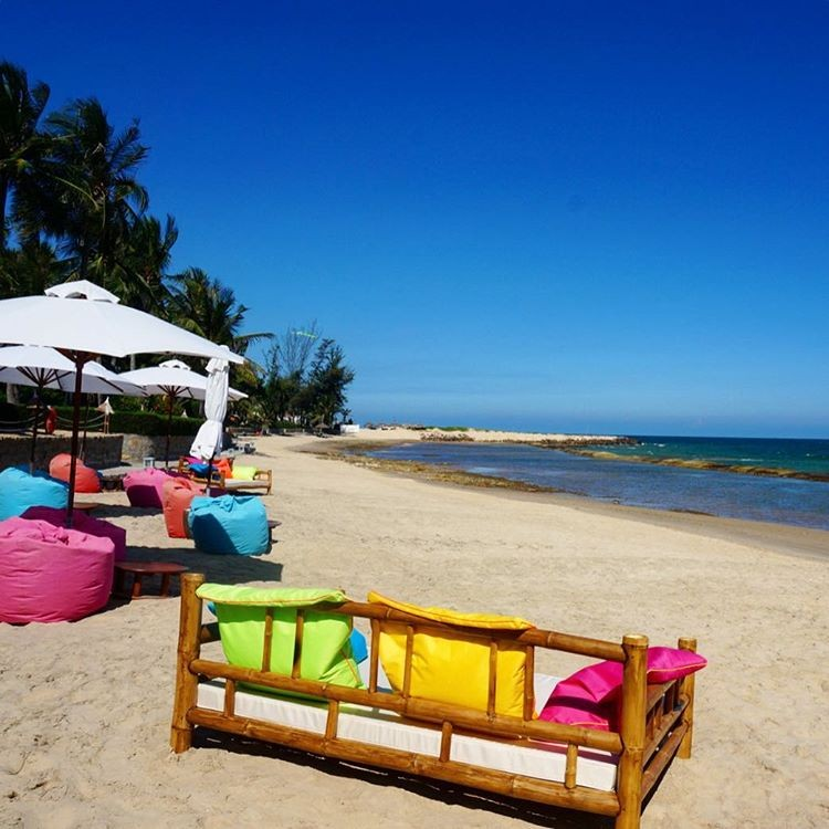 Những gam màu xinh xắn trên bãi biển