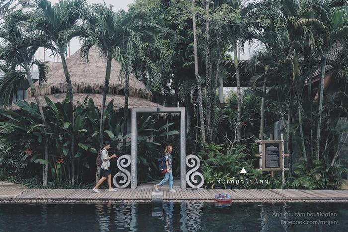 Thiên nhiên trong chính những khu nghỉ dưỡng xinh đẹp