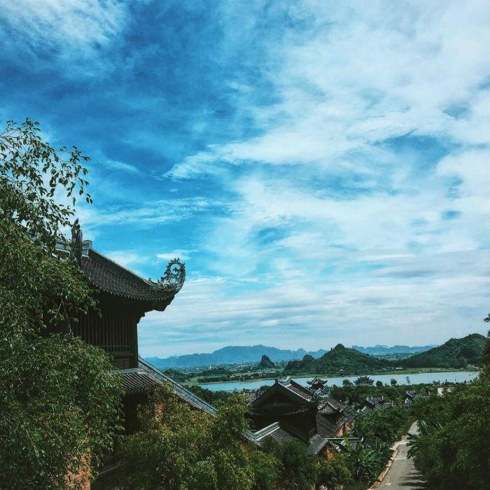 Tạo nên một công trình kiến trúc mang cái hồn nước Việt cách đây cả nghìn năm - Ảnh: anubischichi