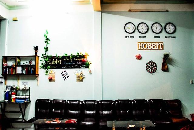 Trang trí của Hobbit Hostel rất dễ thương