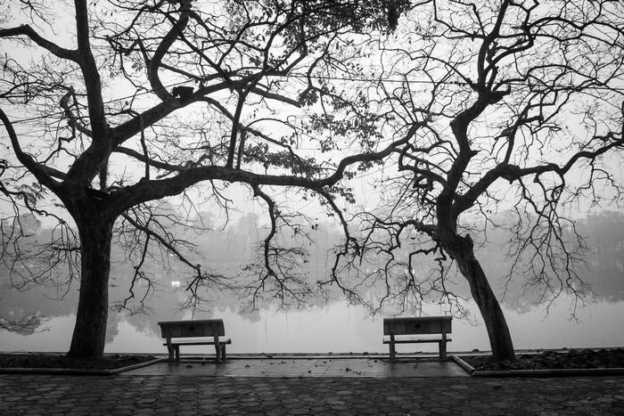 Hồ Gươm – một góc đông buồn